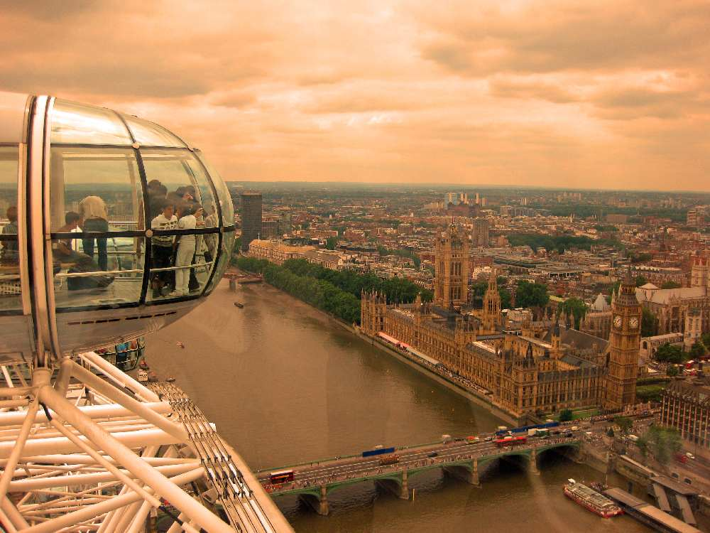 FHC Sprachreisen - England, London Eye