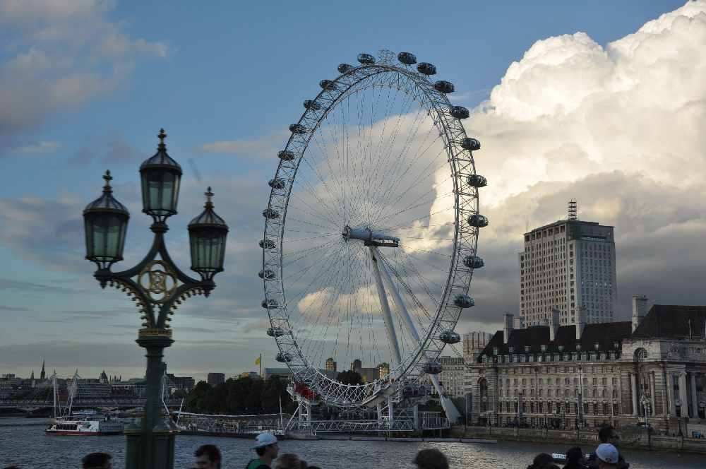 FHC Sprachreisen - England, London Eye 0