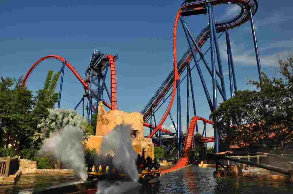 FHC Sprachreisen - Florida / USA - Busch Gardens - SheiKra