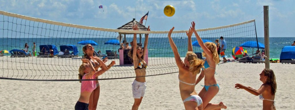 FHC Sprachreisen - Florida / USA - St. Pete Beach Volleyball