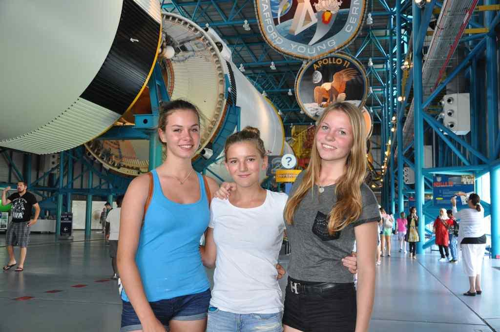 FHC Sprachreisen - Capa Canaveral Florida USA - Saturn V