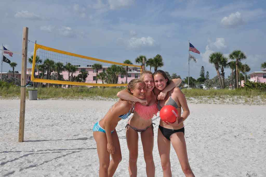 FHC Sprachreisen - Florida, St. Pete Beach - Volleyball
