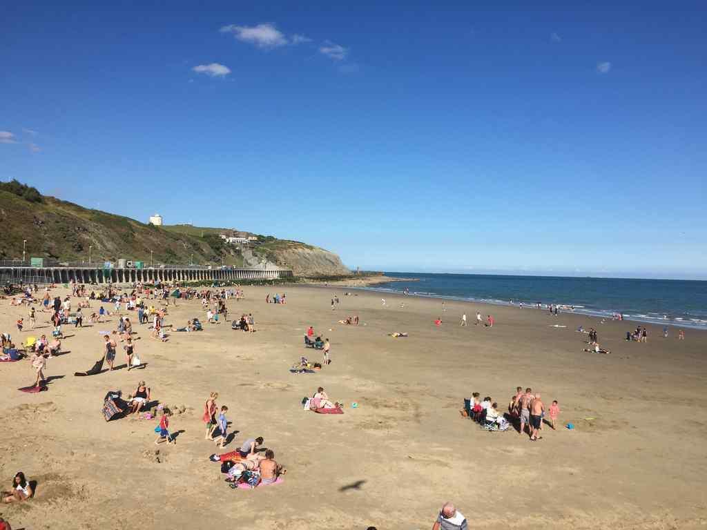 FHC Sprachreisen - Folkestone England Beach
