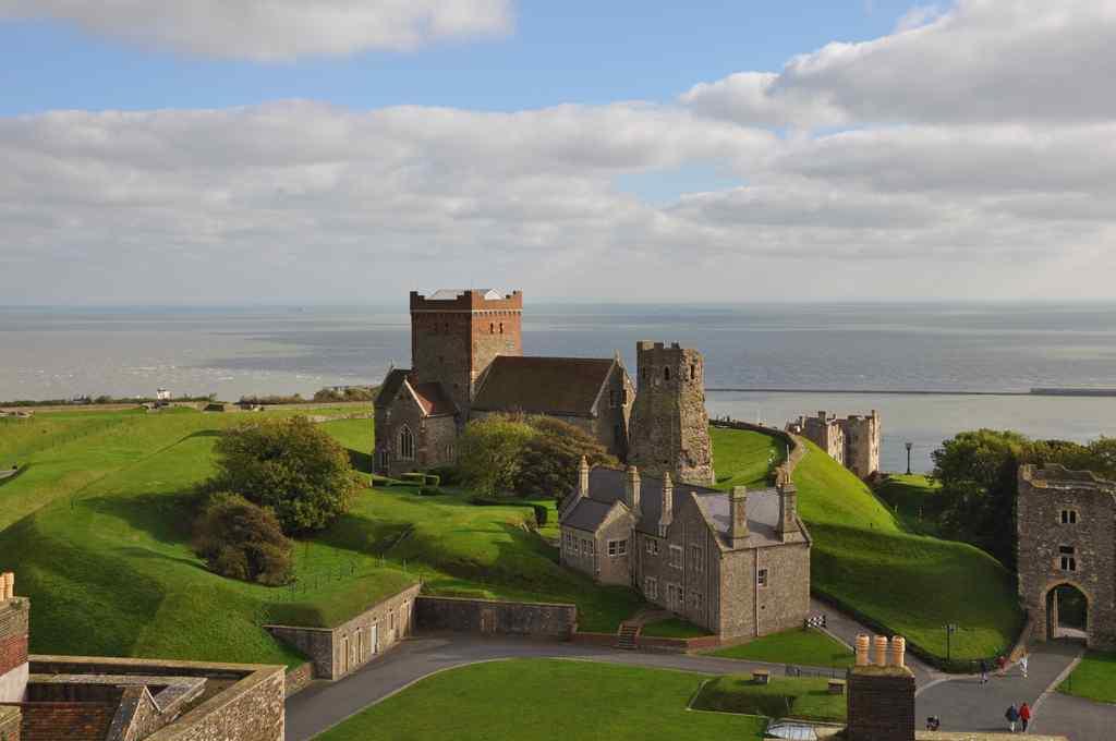 FHC Sprachreisen - Blick von Dover Castle 2