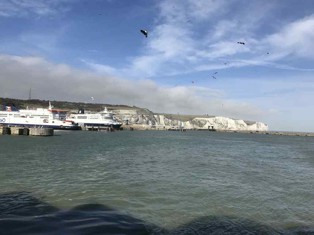 FHC Sprachreisen - Überfahrt Dover