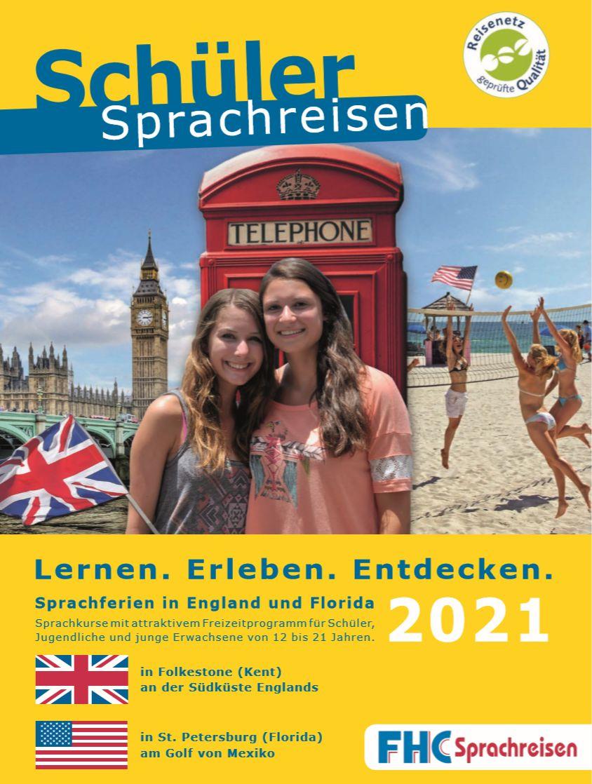 FHC Sprachreisen - Prospekt 2021